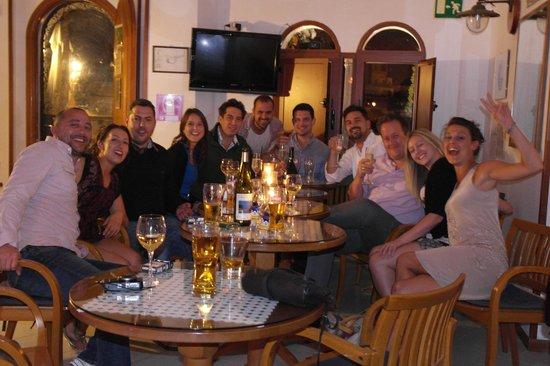 La Margherita Villa Giuseppina : Drinks in bar!