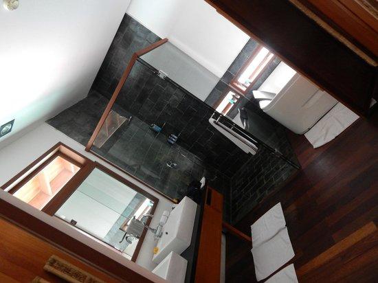 Hotel Medhufushi: douche