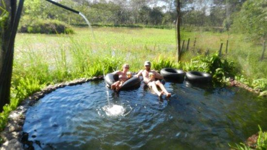 El Roble: Floating under brilliant sunshine