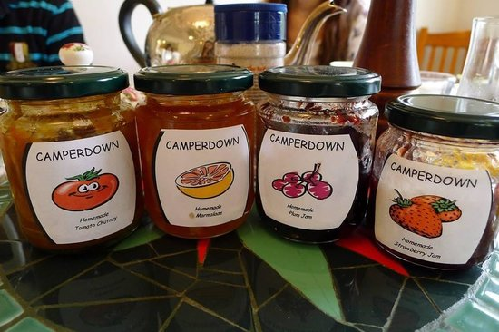 Camperdown Farmstay: Homemade jams