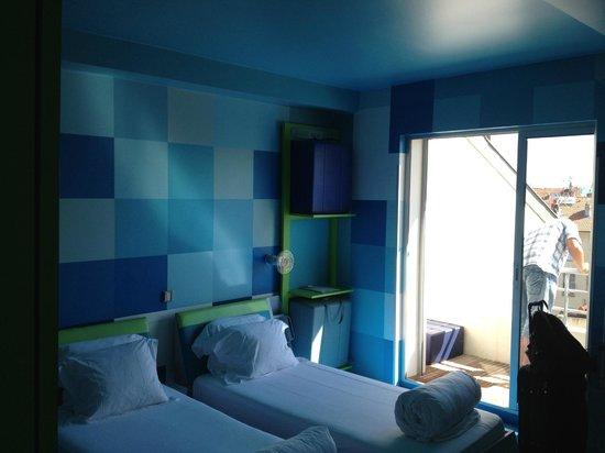 Hi Hotel Eco Spa & Beach : balcón