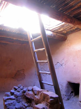 Pecos National Historical Park : Inside A Kiva