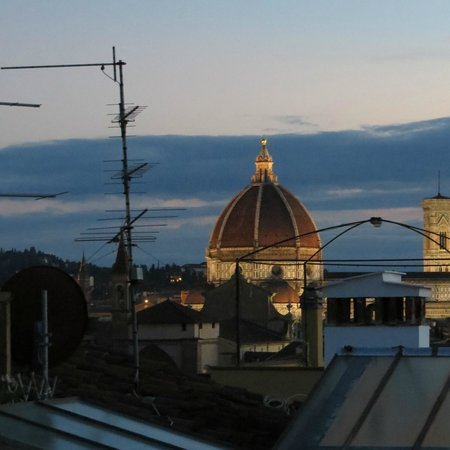 Antica Dimora Johlea: view from the roof terrace