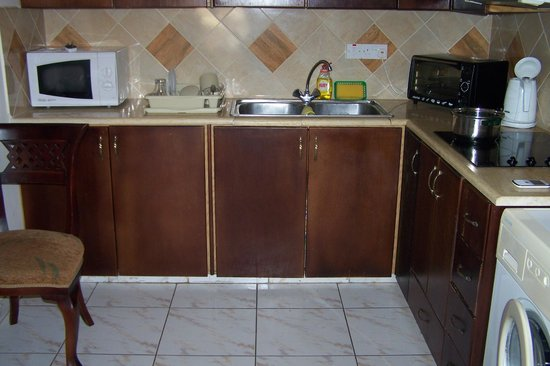 Chrysanthos Boutique Apartments : Nice kitchen if it was cleaned and a little upgrade.