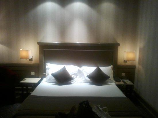 Hotel de la Paix: il letto