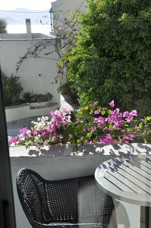 Iria Beach Art Hotel: View from terrace