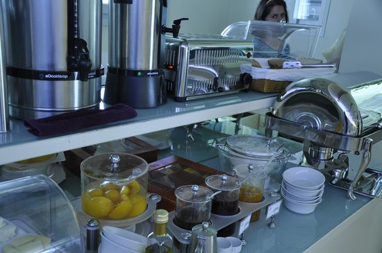 Iria Beach Art Hotel: Breakfast