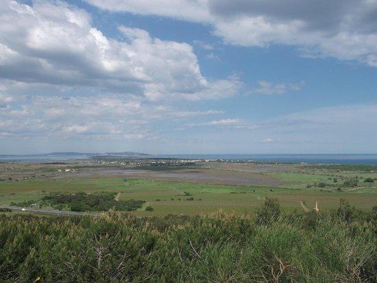 Résidence Les Pescalunes: uitzicht over de baai met de oesterbanken