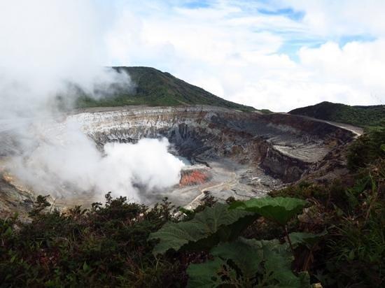 Vista Linda Montaña: Vulkan Poas