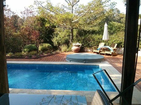 Moshav Liman Estate: The private pool and jaccuzi