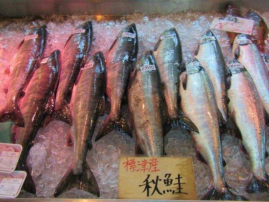 Shibetsu Salmon Park: サーモンパーク内売店