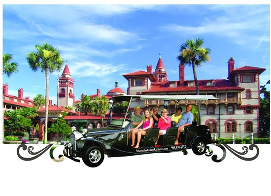 St. Augustine Vintage Car Tours: Beautiful St. Augustine