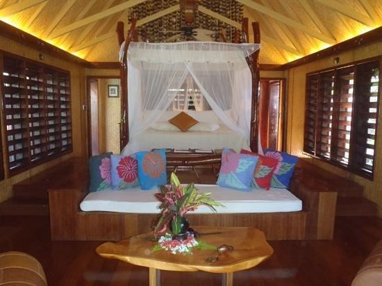 Aitutaki Lagoon Resort & Spa: honeymoon villa