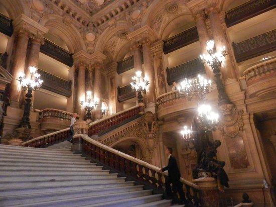 Londres et New York Hotel : Interno Opéra Garnier