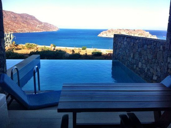 Blue Palace, a Luxury Collection Resort & Spa, Crete: Verandah / Pool