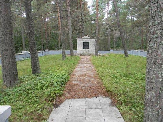 Harju County, Estonia: mass grave