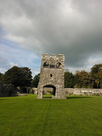 Lamphey Bishop's Palace: Inner Gatehouse