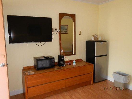 Falcon Motel: amenities area