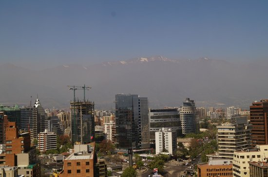 NH Collection Plaza Santiago : The view from my room
