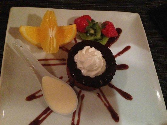 Giggling Squid Tunbridge Wells: Yummy Chocolate Mousse :)