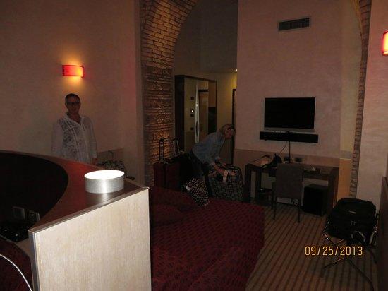 Kolbe Hotel Rome : Sleeping area