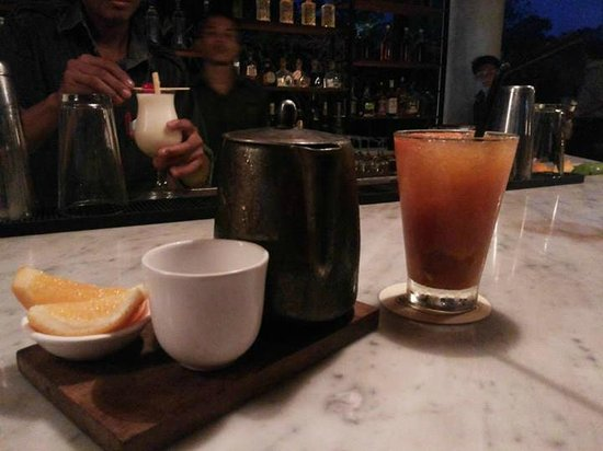 Potato Head Beach Club: Prohibition Iced Tea & Bells and Whistles