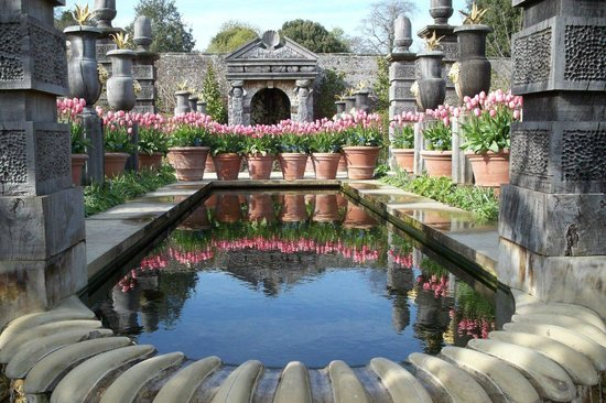 Arundel Castle - The Collector Earl's Garden Rill