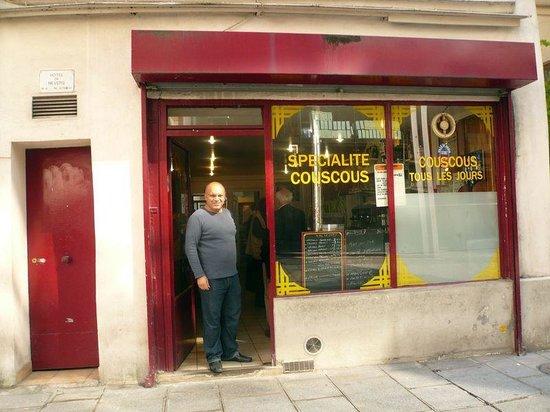 Couscous Nevers Cafe: Facade