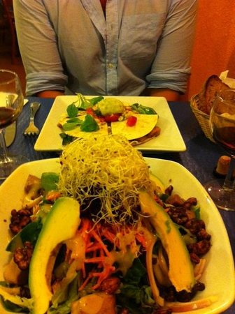 Restaurante Vegetariano: Energy Salad