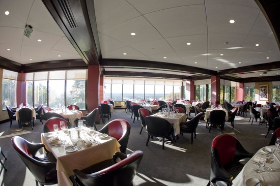 Woodcliff Hotel and Spa: Horizons Dining Room