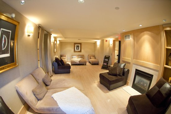 Woodcliff Hotel and Spa: Spa Elan Relaxation Room