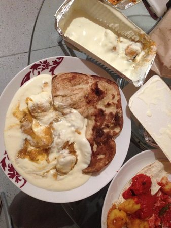 Ashleys Restaurant: Butter Chicken aka 'White Sick'