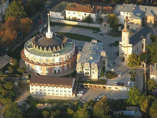 The Catholic Cathedral Saint Mary: Iasi