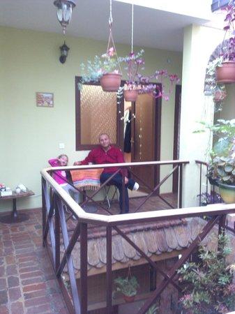 Hotel Marani Meidanze : Chilling outside the room