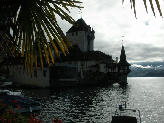 Tower Upon Lake Thun Picture Of Castillo Oberhofen