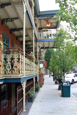 Inn at Jim Thorpe: Street view