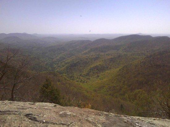 Barefoot Hills Hotel: Appalachian Trail view