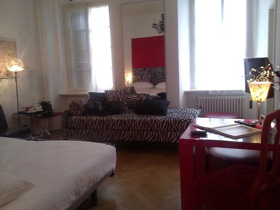 Caffe dell'Arte Boutique Rooms: Charme sauvage Zebra, unser Zimmer
