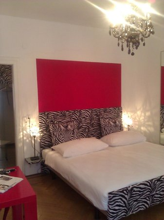 Caffe dell'Arte Boutique Rooms: Mit Stil eingerichtet...