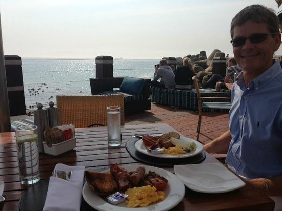 Radisson Blu Hotel Waterfront, Cape Town: Fabulous breakfast buffet