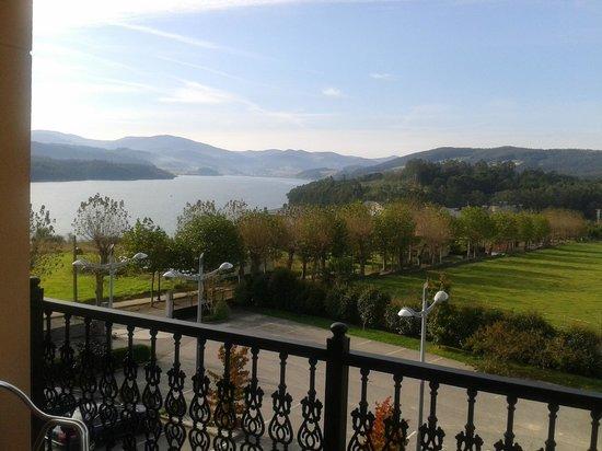 Hotel O Cabazo: Vistas terraza
