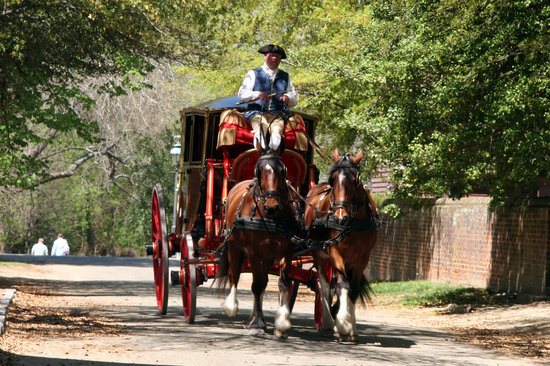 Virginia: Colonial Williamsburg's Historic Area explores dozens of original buildings, homes, and shops re