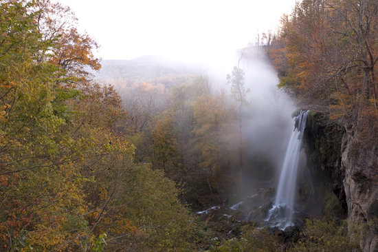 Falling Spring is one of the largest waterfalls in Virginia.