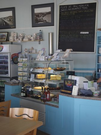 Driftwood Cafe: Inside treats!