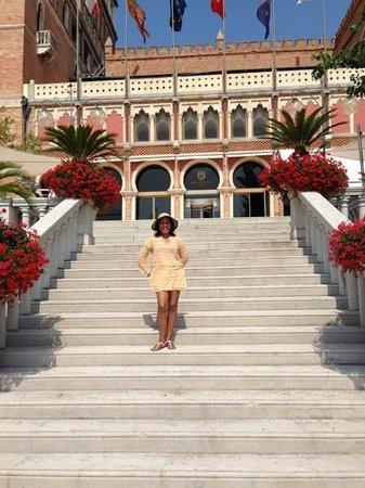 Hotel Excelsior: Hermoso lugar