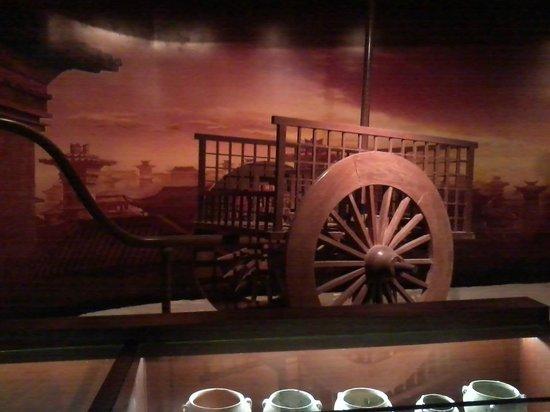 Chaotian Gong of Nanjing: A cart of that era