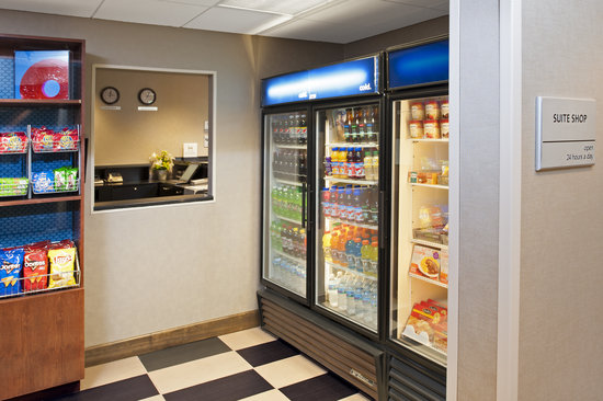 Hampton Inn & Suites South Bend: Forgot something or need a quick snack? Our 24 hour Suite Shop has you covered!