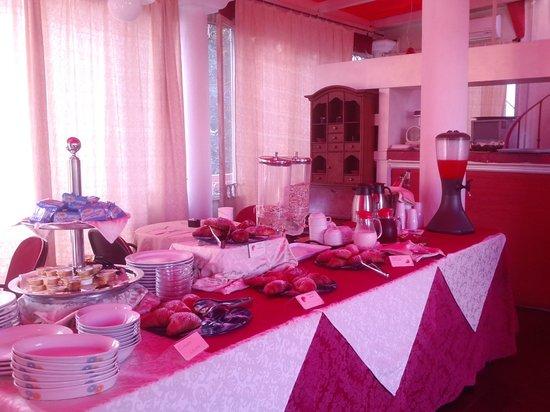 Hotel Villa Antica: breakfast room