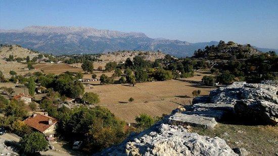 Selge Ruins: le village coté Sud