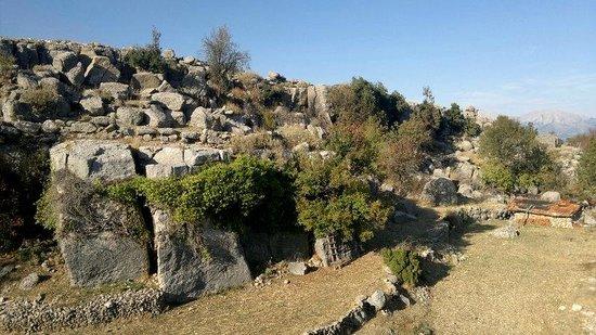 Selge Ruins: derrière le théâtre